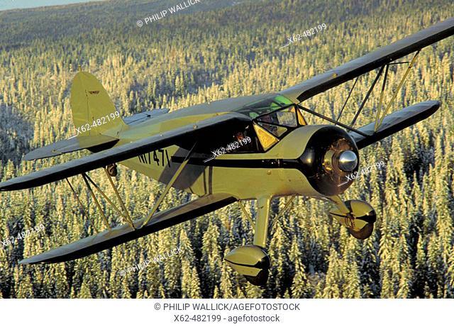 Waco biplane