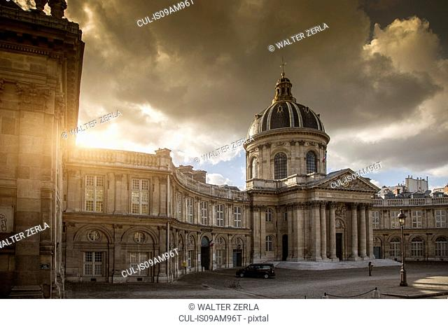 View of the Musee de Orsay, Paris, France