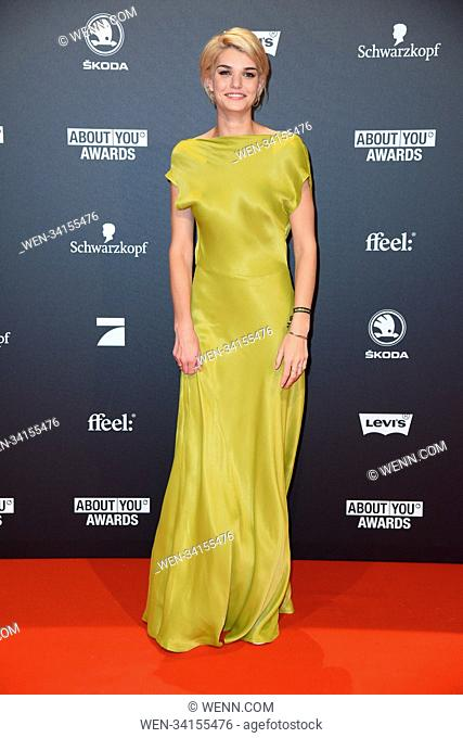 About You Awards 2018 at Bavaria Studios - Arrivals Featuring: Luisa Hartema Where: Munich, Germany When: 03 May 2018 Credit: WENN.com