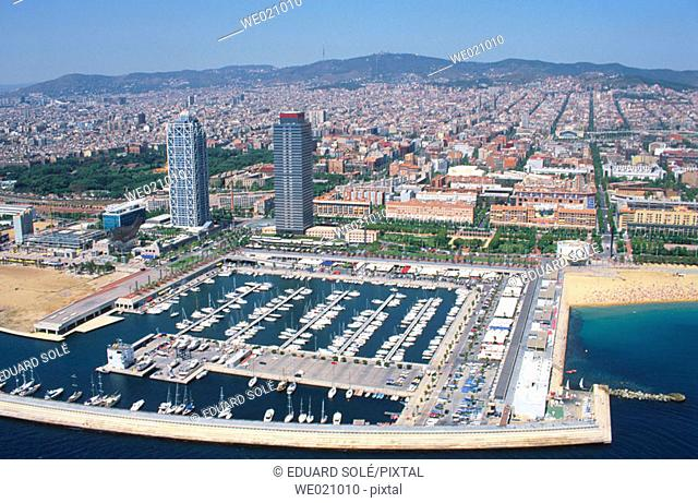 Olympic Port. Barcelona. Spain