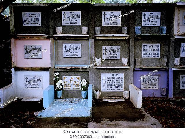 Manila South Cemetery in Manila in Luzon Metro Manila in the Philippines in Southeast Asia Far East