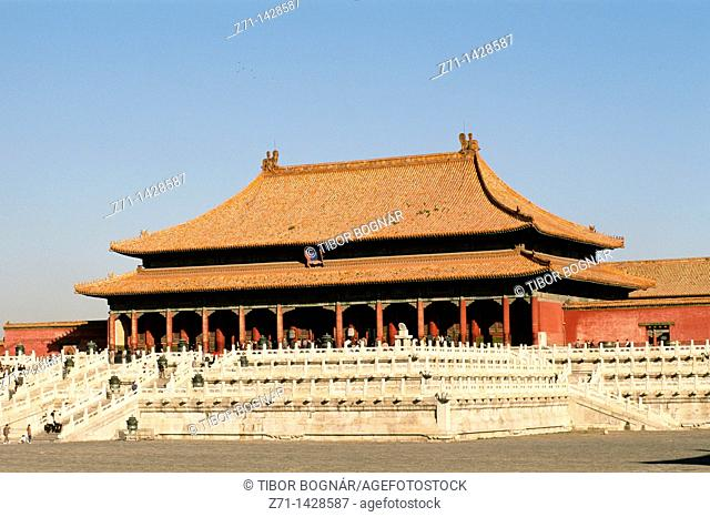 China, Beijing, Forbidden City, Supreme Harmony Hall