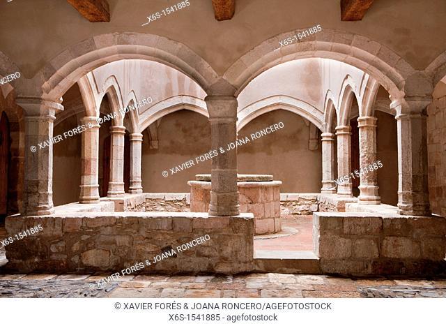 Monastery of Santes Creus - Reial Monasteri de Santes Creus -, Ruta del Cister, Santes Creus, Alt Camp, Tarragona, Spain