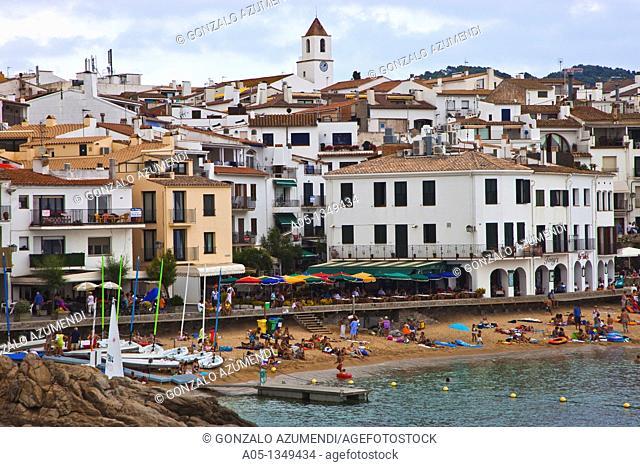 Calella de Palafrugell, Palafrugell, Baix Empordá, Costa Brava, Girona Province, Catalonia, Spain