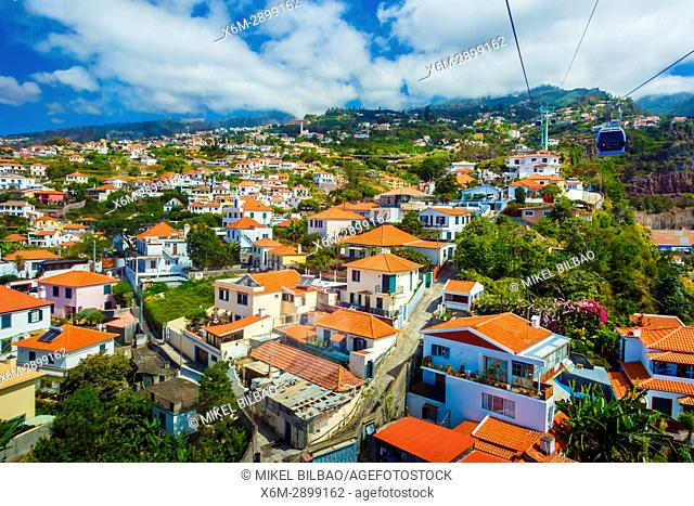 Cityscape. Funchal. Madeira, Portugal, Europe
