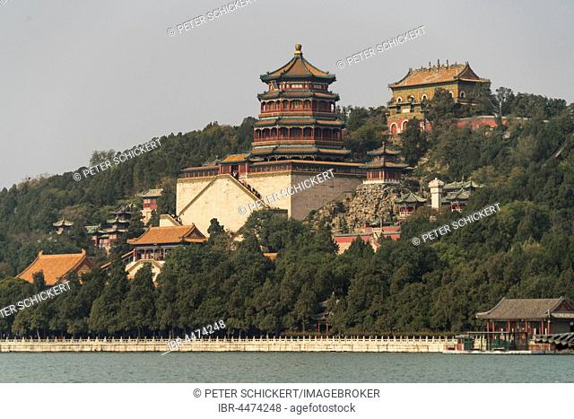 Longevity Hill and Tower of Buddhist Incense, Summer Palace, Beijing, China