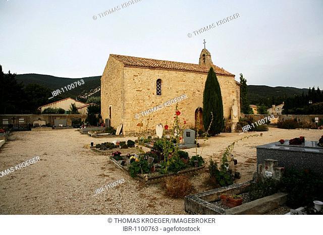 Sainte-Anne Chapel in Le Pegue, Provence, France, Europe