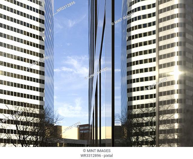Modern High Rise Office Buildings