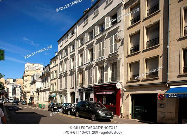 tourism, France, ile de france, 16th arrondissement of paris, Around 10 rue d'Auteuil, buildings Photo Gilles Targat