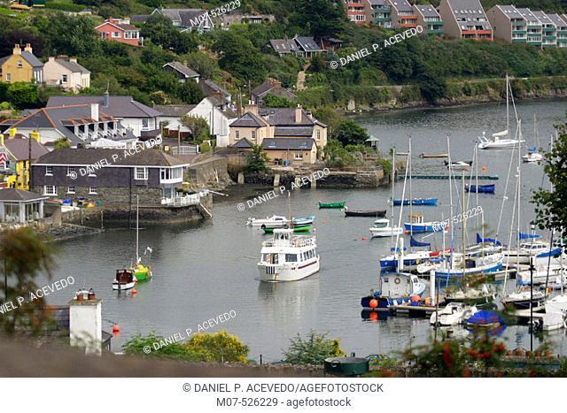 Kinsale above. Co. Cork. Ireland