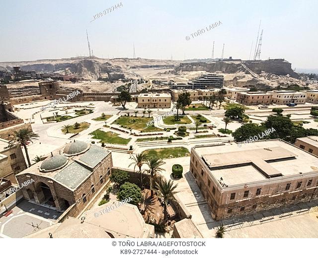 Al Mokatam view from The Citadel, Cairo, Egypt