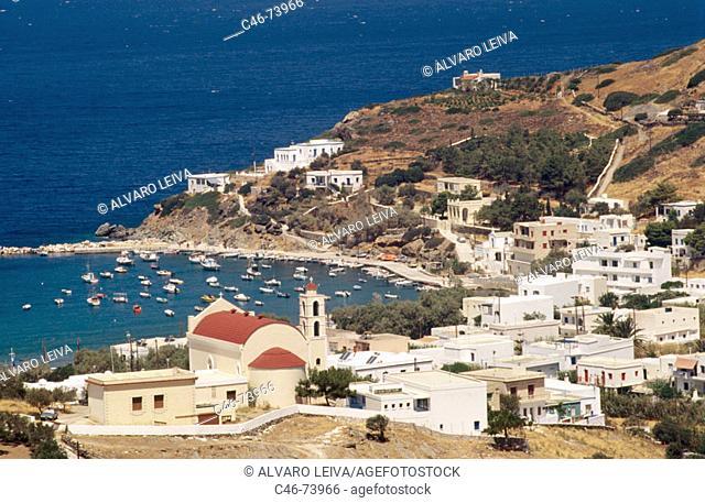 Galissas, Syros island. Cyclades, Greece