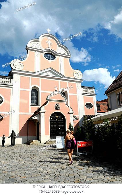 The Church of Saint Joseph in Immenstadt, Allgaeu
