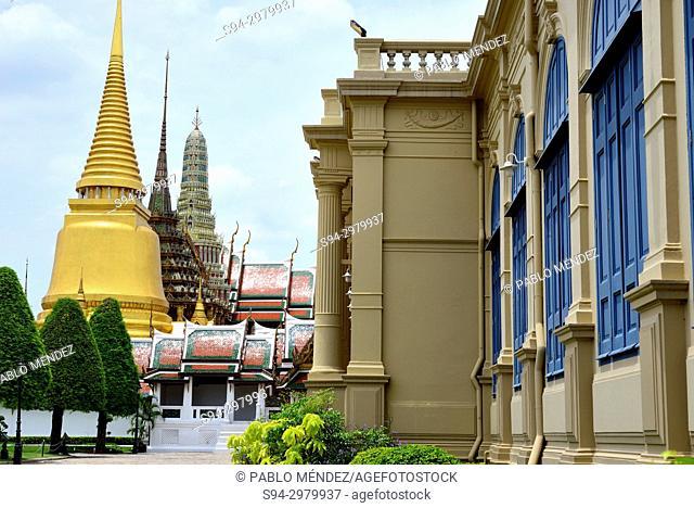 Wat Phra Keow bells, Bangkok, Thailand
