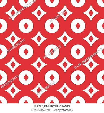 Red retro seamless pattern.eps