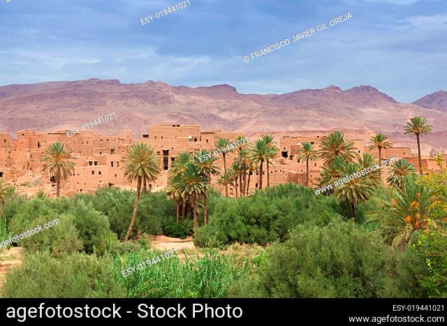Oasis of Tinerhir, Morocco
