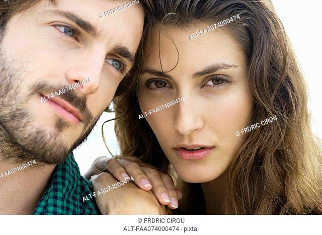 Attractive young couple, portrait