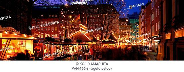Christmas Lights, Bremen, Germany, No Release