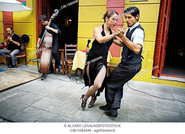 Tango, La Boca, Buenos Aires, Argentina, South America