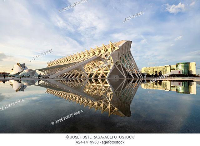 Spain, Valencia Comunity, Valencia City, The City of Arts and Science built by Calatrava