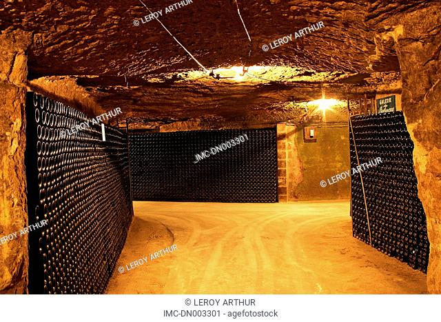 France, Centre, Montrichard, caves