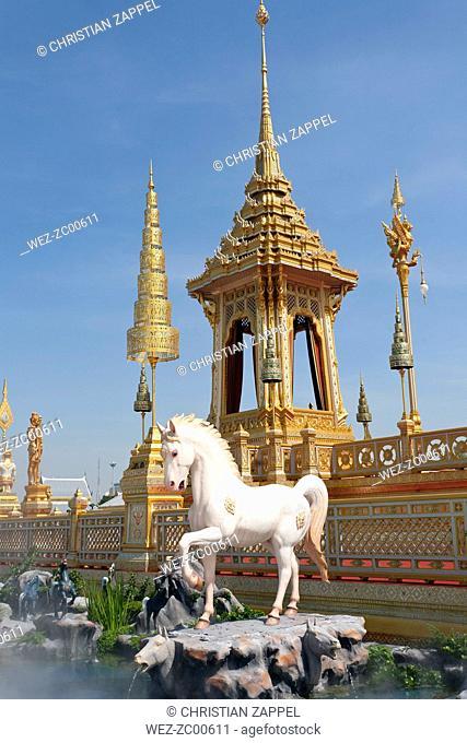 Thailand, Bangkok, royal crematorium