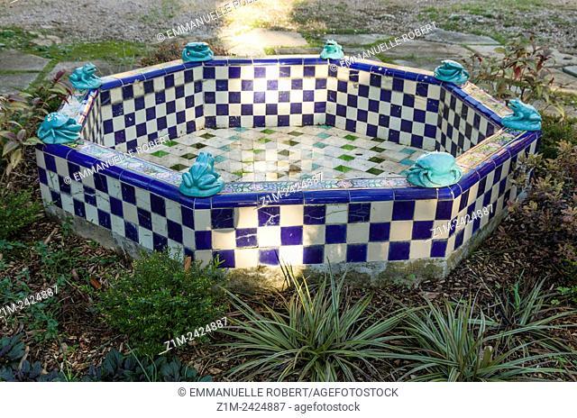 Fontana Rosa garden, Menton, ALpes Maritimes, Provence Alpes Cote Azur, France, Europe