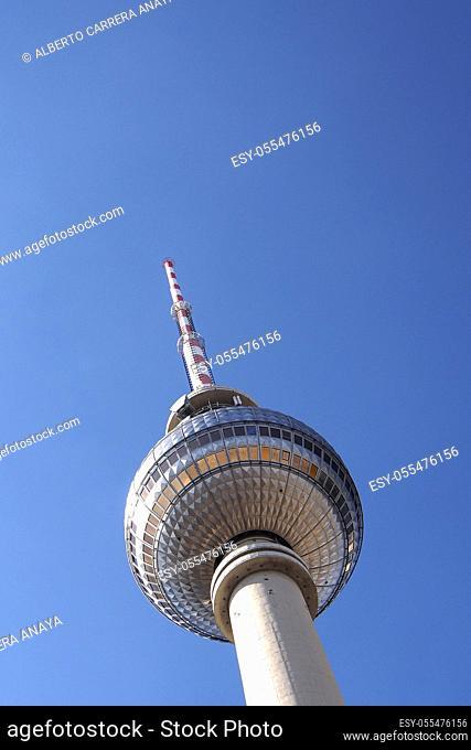 Berlin TV Tower, Central Berlin, Berlin, Germany, Europe