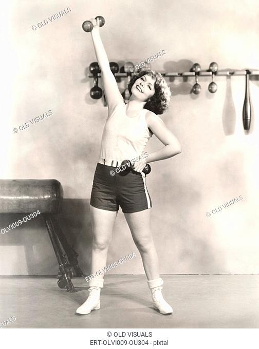 Reaching her fitness goals