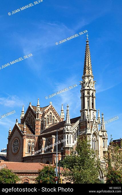 Sant Francesc de Sales Church, Barcelona, Spain