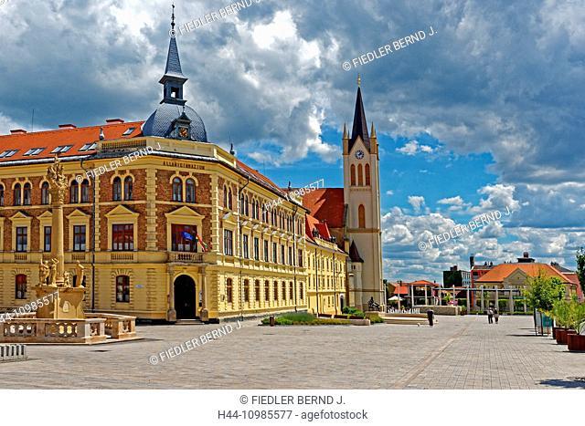 Marketplace in Keszthely