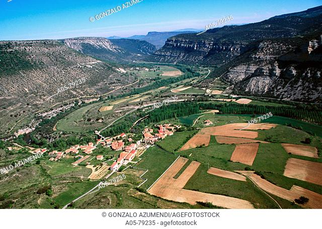Cañones del Rio Ebro. Pesquera de Ebro. Burgos province. Castilla y Leon. Spain