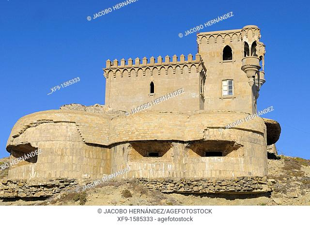 Santa Catalina castle and bunkers, Tarifa, Cádiz province, Andalusia, Spain