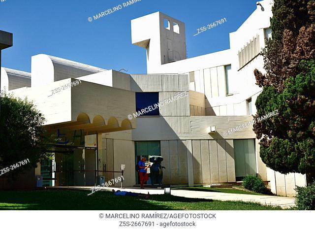 The Fundació Joan Miró, Centre d'Estudis d'Art Contemporani - Joan Miró Foundation - is a museum of modern art honoring Joan Miró located on the hill called...