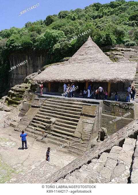 Malinalco. Aztec archaelogical site. Mexico