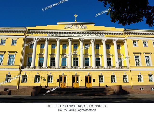 Lobanov-Rostovsky Palace (1820), Senate square, Saint Petersburg, Russia, Europe