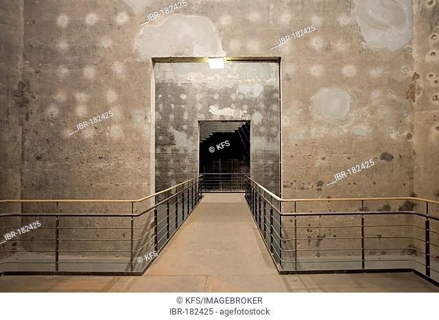 Passageway in a disused coking plant, Zollverein, Essen, NRW, Germany