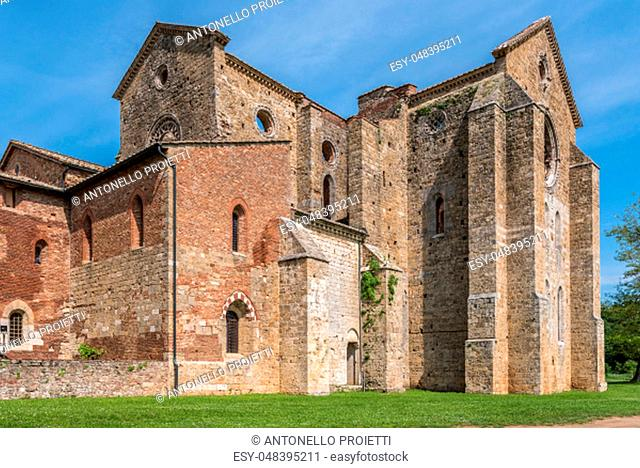 External view of the Abbey of San Galgano