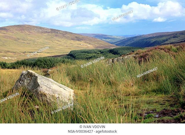 Wicklow mountains near Dublin, Ireland