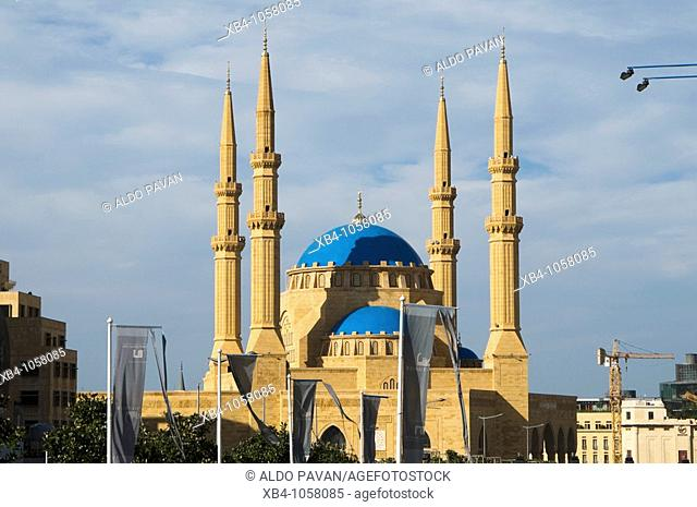 Mohammed el-Amin mosque in downtown Beirut, Lebanon