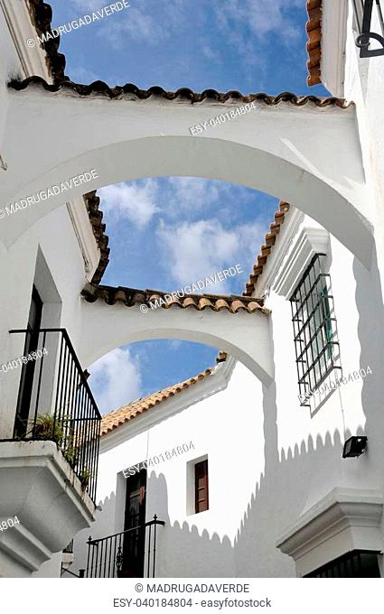 Poble Espanyol in Barcelona, Spain - Reconstruction of Spanish Village