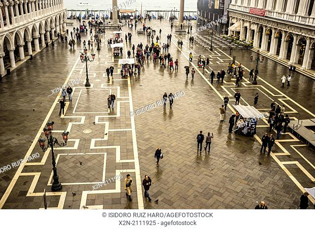 Piazza San Marco. Venice. Veneto. Italy