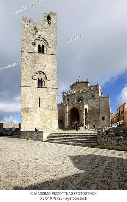 Church Matrix in Erice, Sicily, Italy