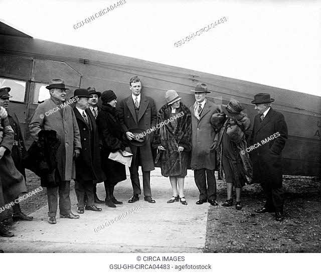 Charles Lindbergh, Harris & Ewing, 1928