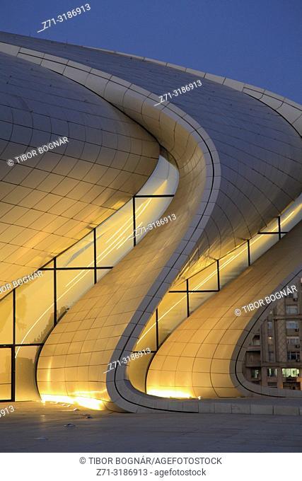 Azerbaijan; Baku; Heydar Aliyev Center; Zaha Hadid architect;