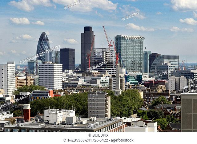 City of London skyline, UK