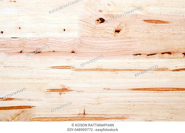 Light brown natural wooden background. Closeup grunge wooden table texture. Useful as for background