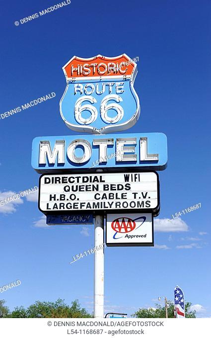 Historic Route 66 Motel Seligman Arizona