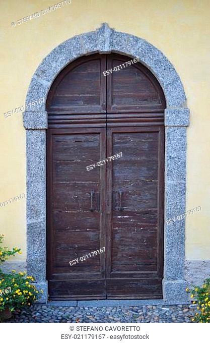 Old wooden door or gate