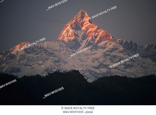 Machapuchare, Annapurna, Nepal